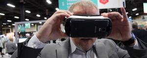 Vantrix VR headset demo