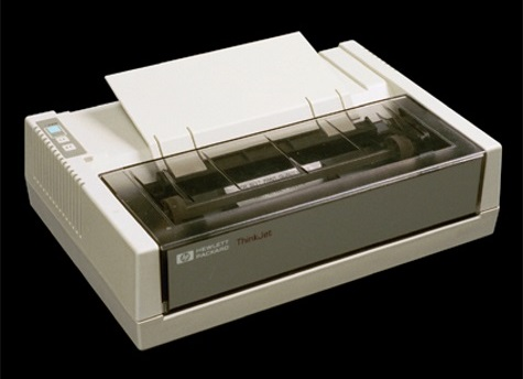 HP slideshow 5 - First commercial ink printer
