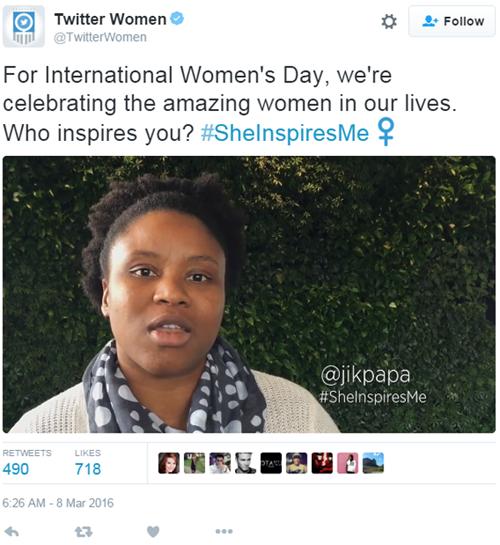 International Women's Day Roundup - Twitter
