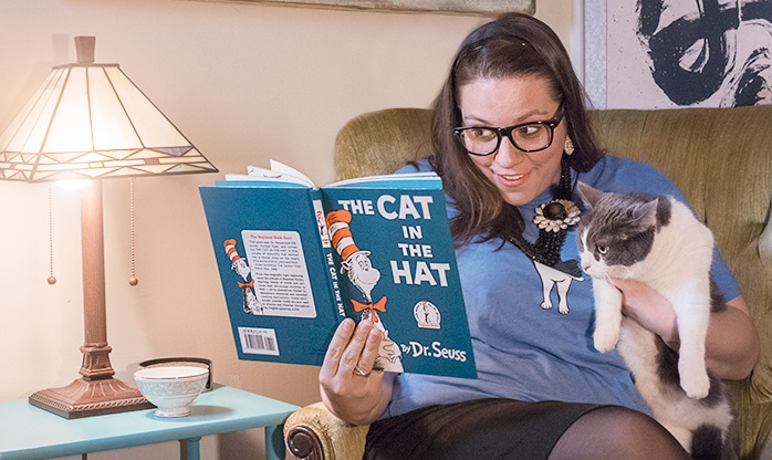 April Fool's Day Slideshow - Cat Reader 1