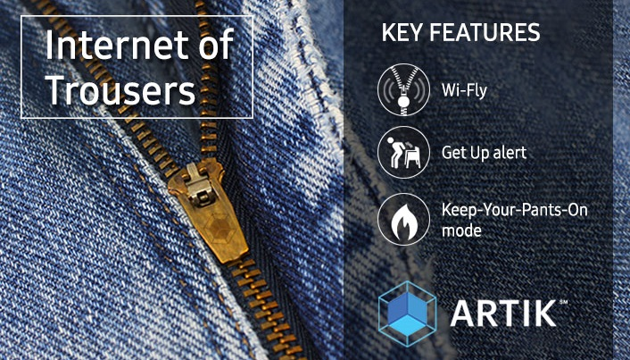 April Fool's Day Slideshow - Internet of Trousers 2