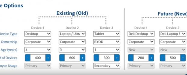 Dell PC upgrade calculator