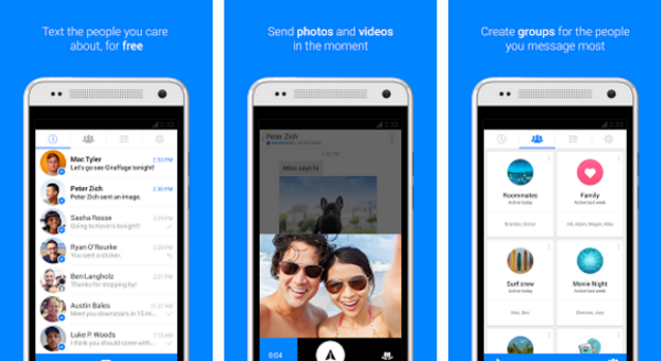 Top business apps slideshow 13 - Facebook Messenger