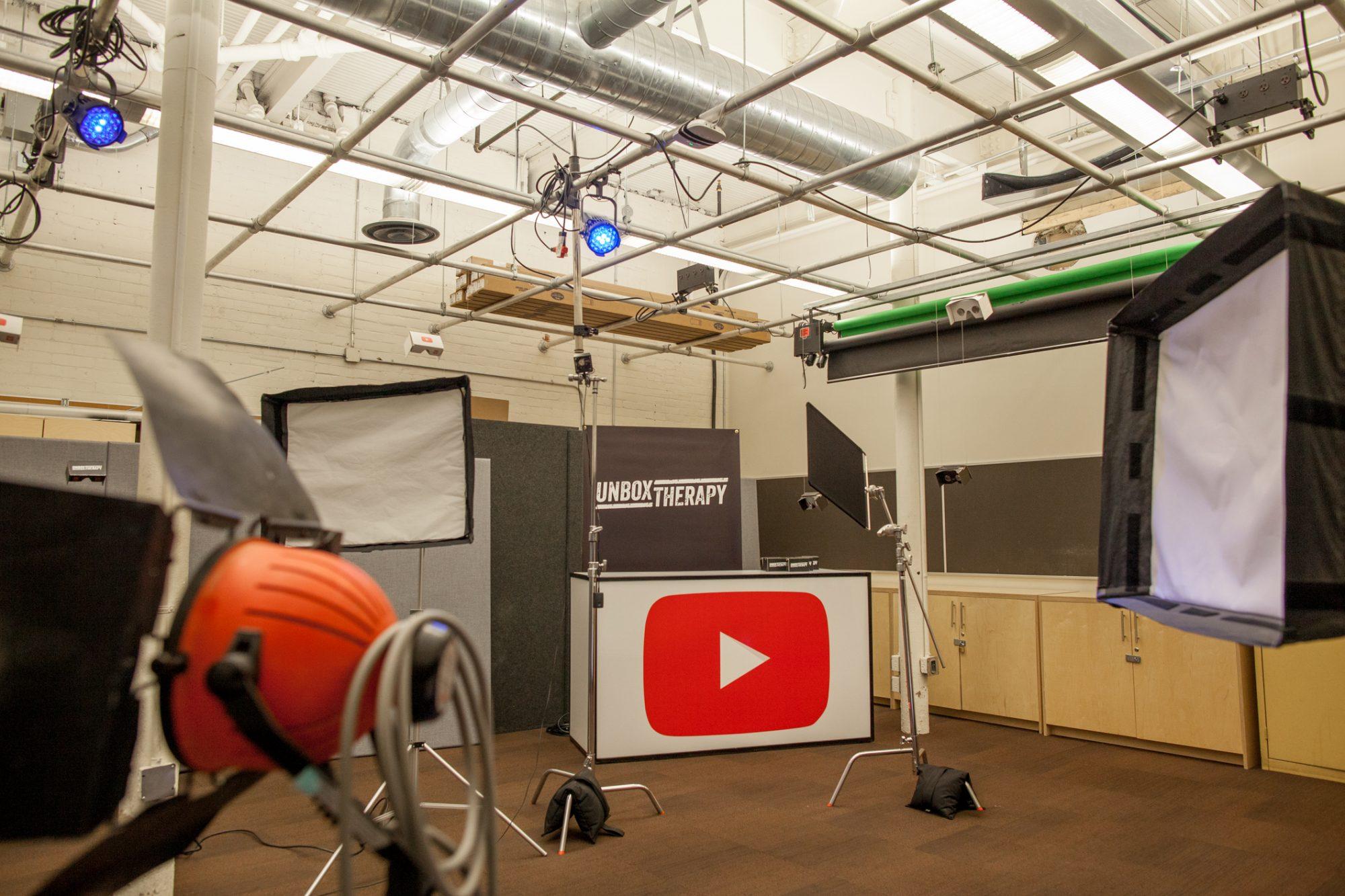 YouTube Space Toronto - Studio 2 VR room