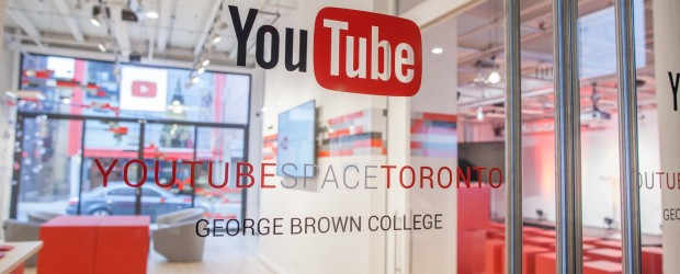 YouTube Space Toronto - lobby entrance