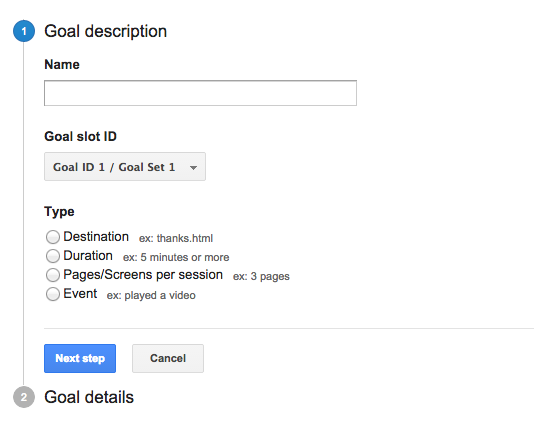 Analytics for AdWords 1 - Import goal completions and ecommerce transactions