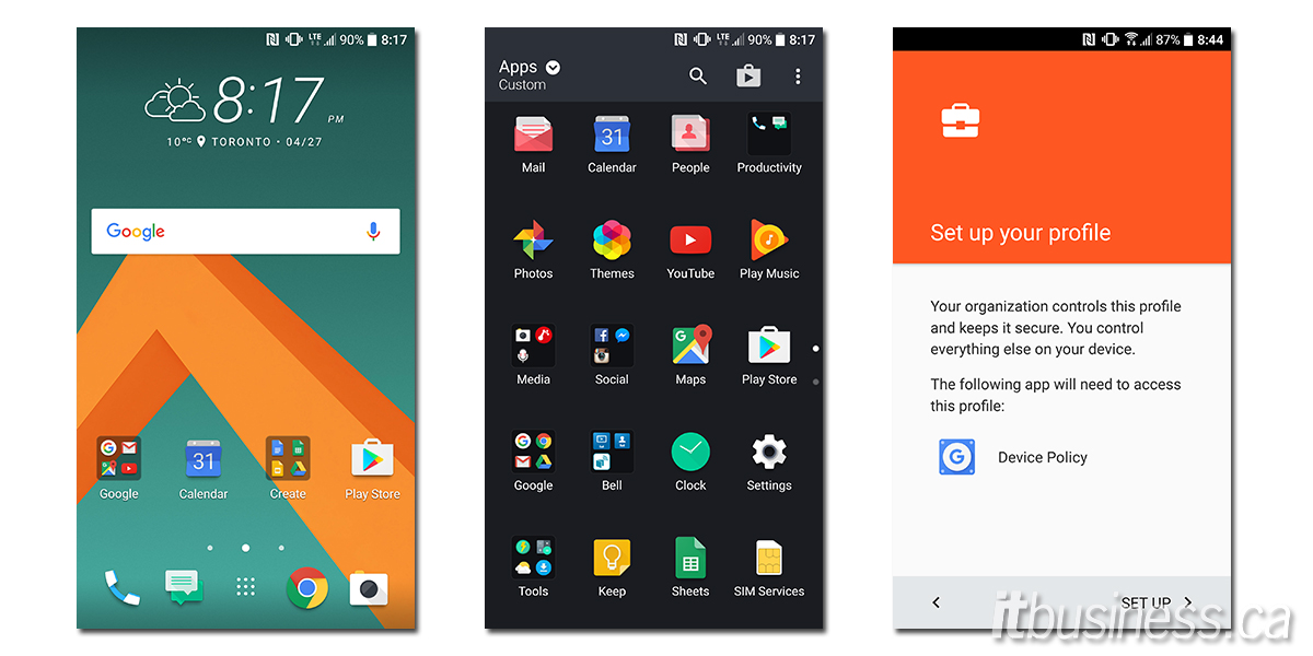 HTC 10 Screenshots