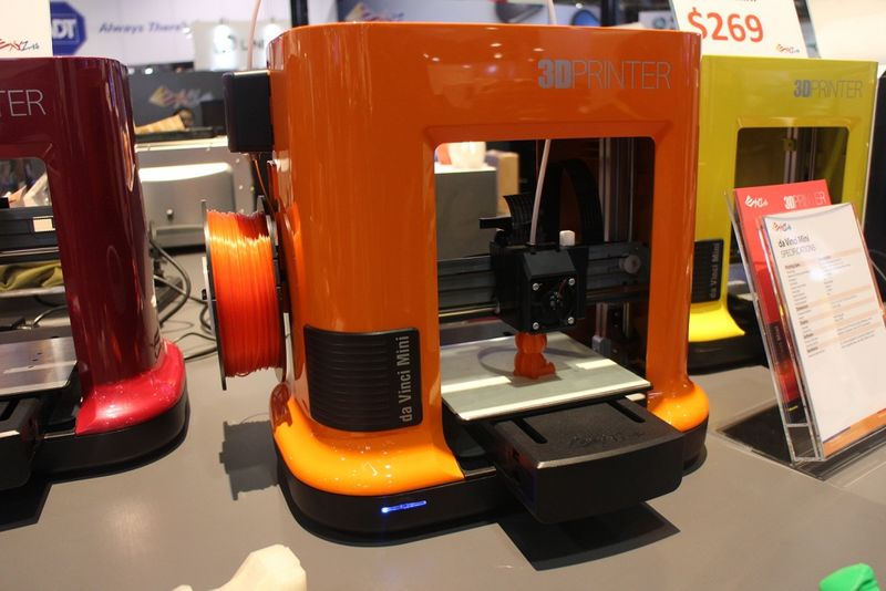 Computex Slideshow 7 - XYZprinting's da Vinci Mini 3D printer