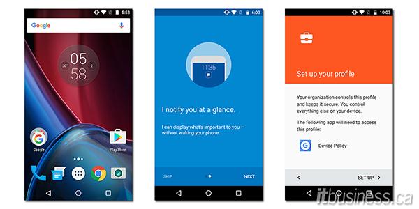 Moto G Plus Screenshots