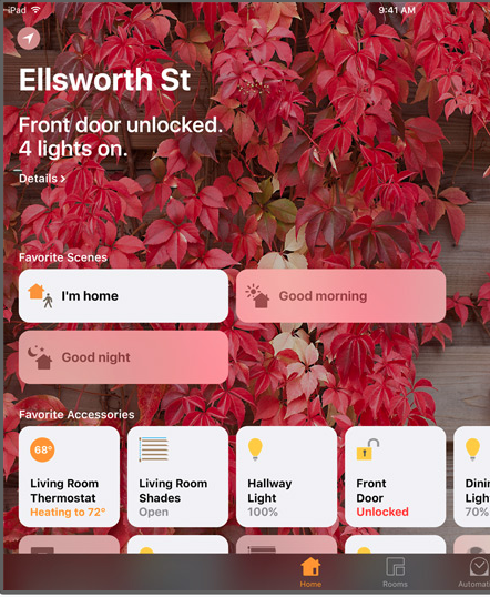 iOS 10 preview - HomeKit