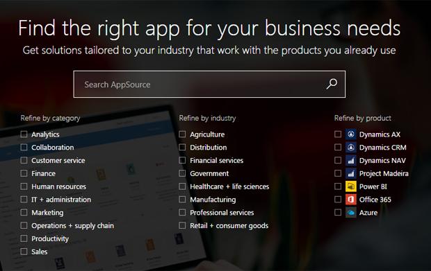AppSource screenshot