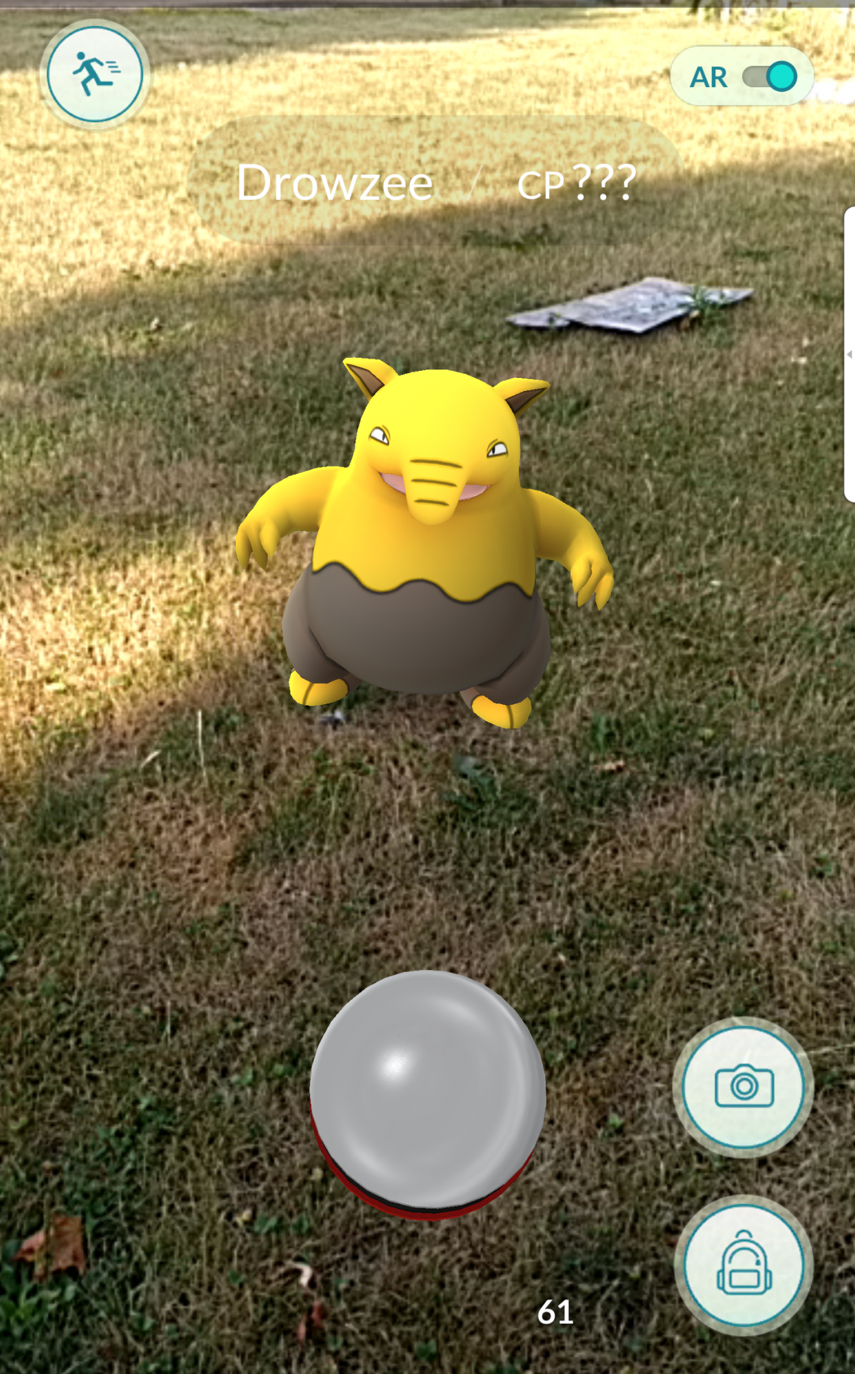 A Drowsee captured on the way to work.