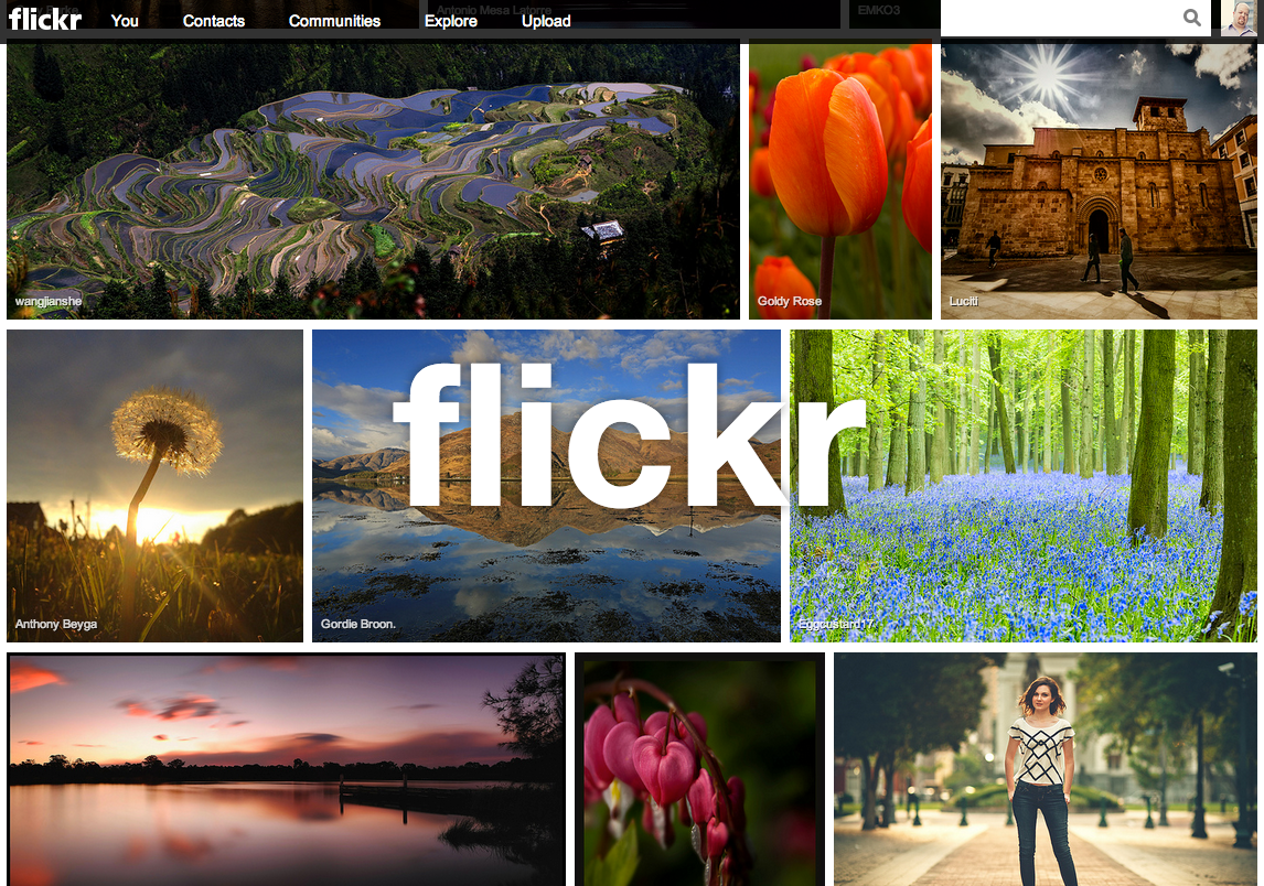 Yahoo slideshow 6 - Flickr