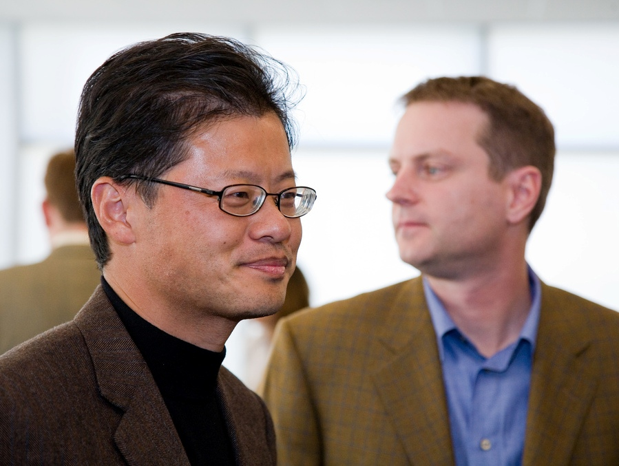 Yahoo slideshow 8 - Jerry Yang leaves