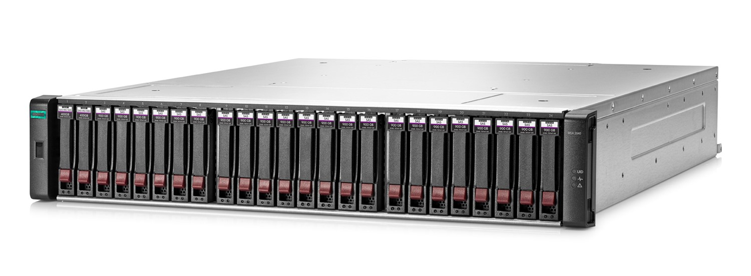 The HPE MSA 2042 (Courtesy HPE)
