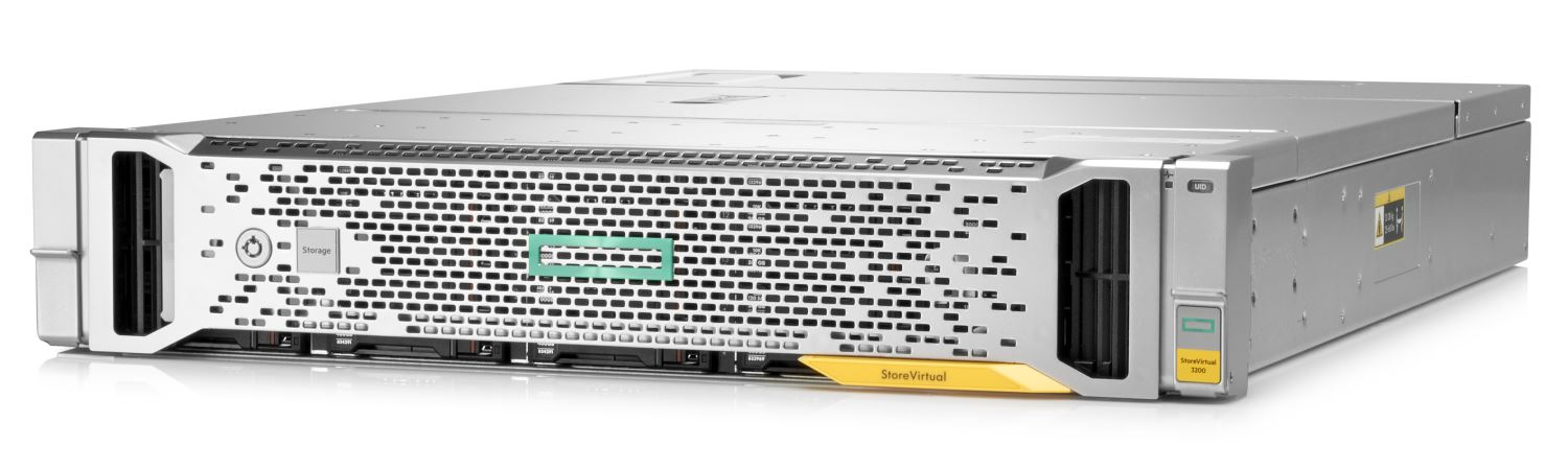 The HPE StoreVirtual 3200 (Courtesy HPE)