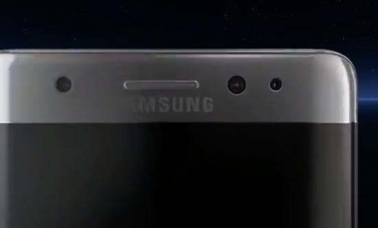 Galaxy Note 7 - top