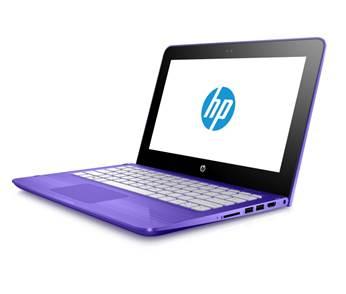 HP Stream - purple profile