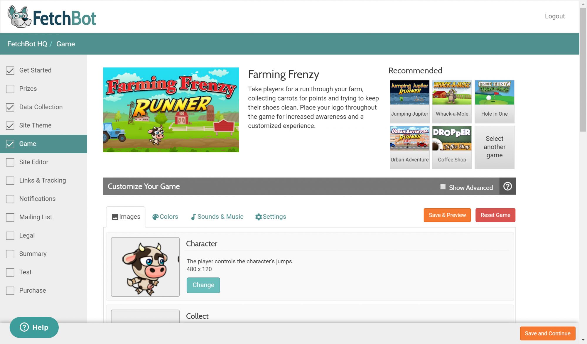 FetchBot - farming frenzy