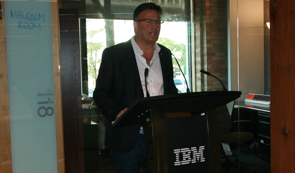 IBM Canada president Dino Trevisani was happy to emphasize the unique nature of the IBM Innovation Space during its Sept. 21 dedication in downtown Toronto.
