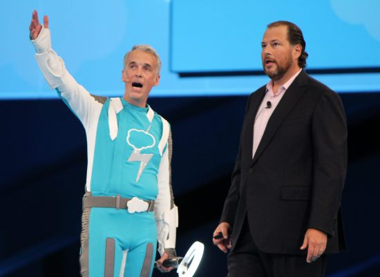 Parker Harris wth Marc Benioff - Salesforce co-founders