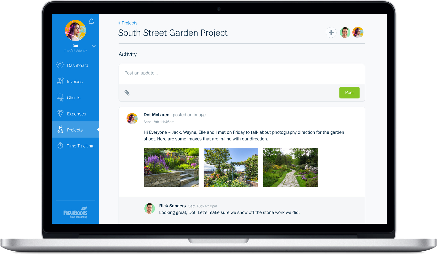 new-freshbooks-projects