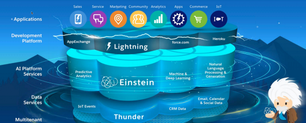 Salesforce platform stack - Einstein