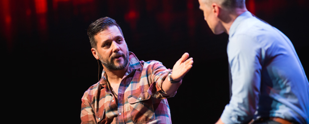 Former Mtv The Hour And Hockey Night In Canada Host And Newly Minted Youstar George Stroumboulopoulos Speaks With Google Canadas Head Of Public
