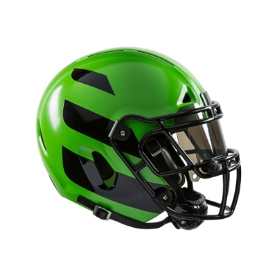 The Zero1 helmet is designed to absorb impact forces with novel four-layer construction, including outer shell that yields upon impact like a car bumper