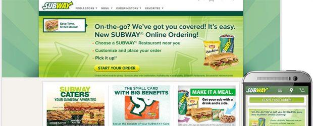 Subway ecommerce platform
