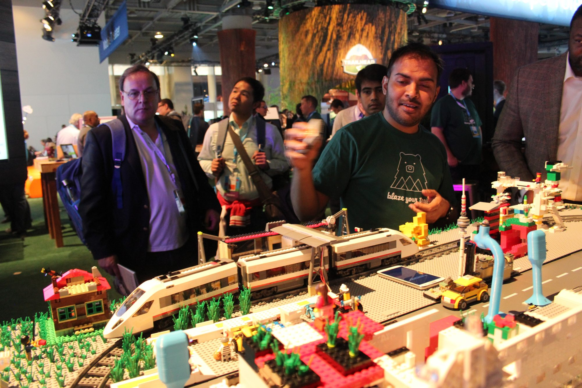 Salesforce - Lego train