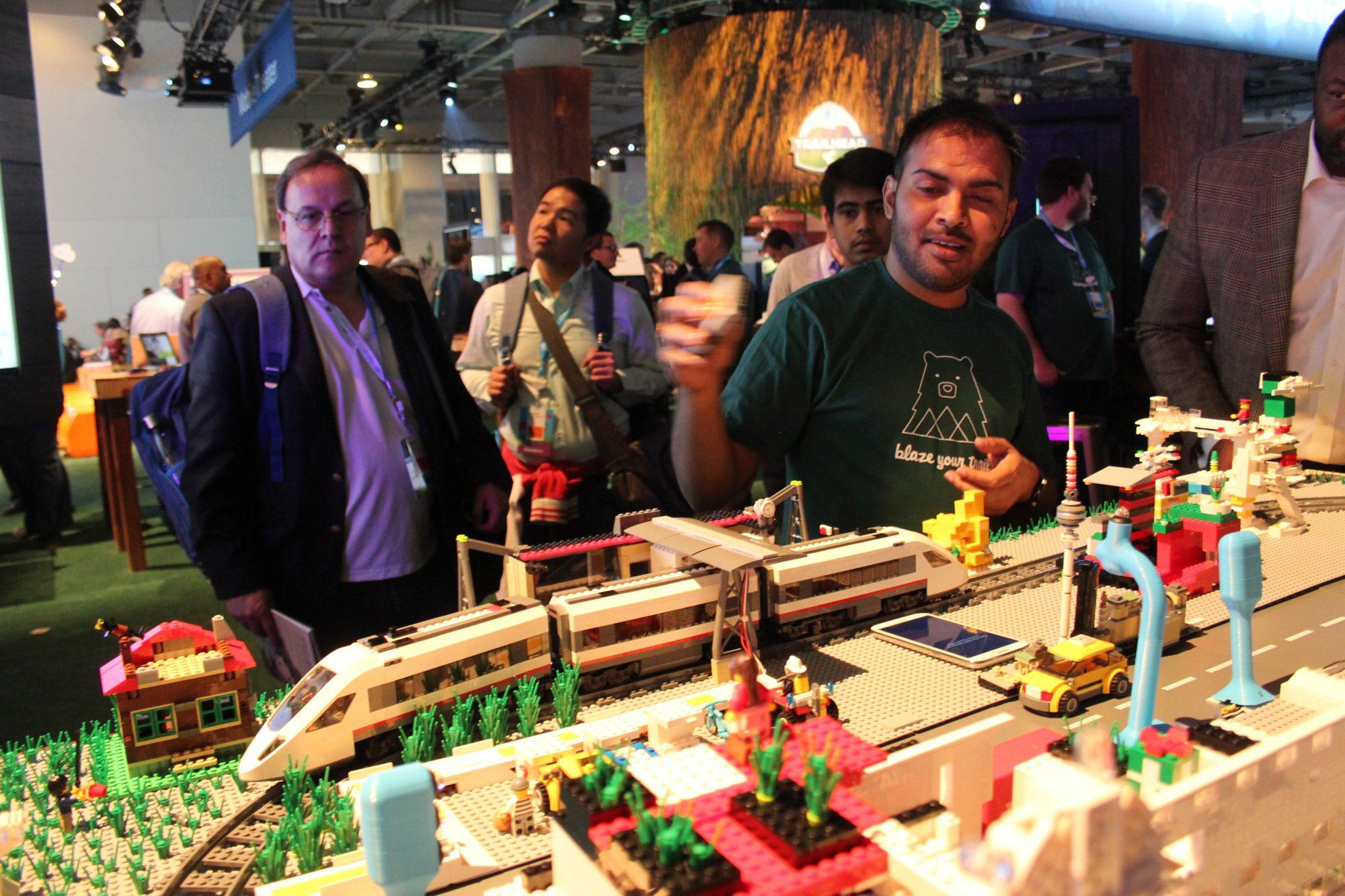 Salesforce - Lego train