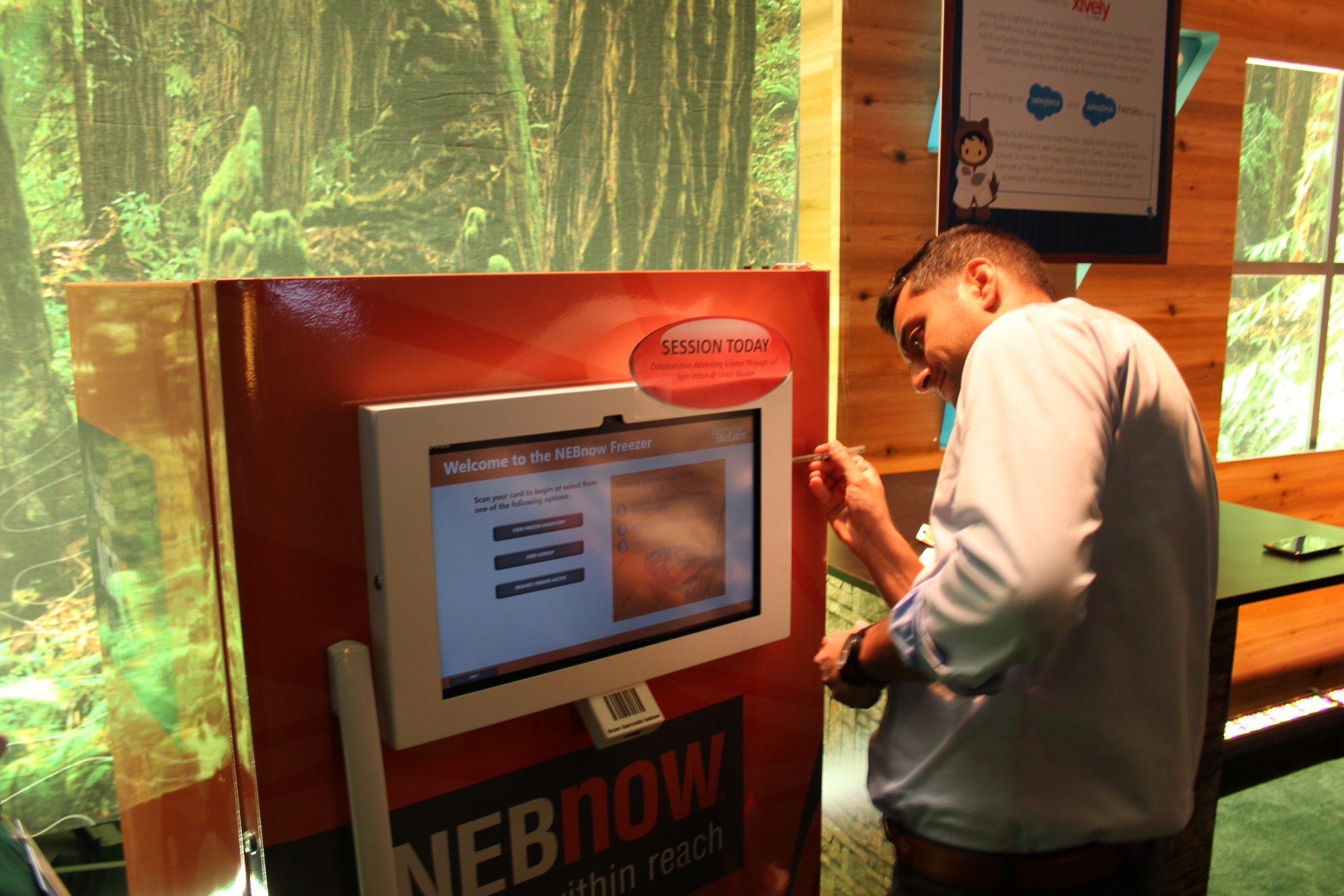 Salesforce IoT - Nebnow freezer