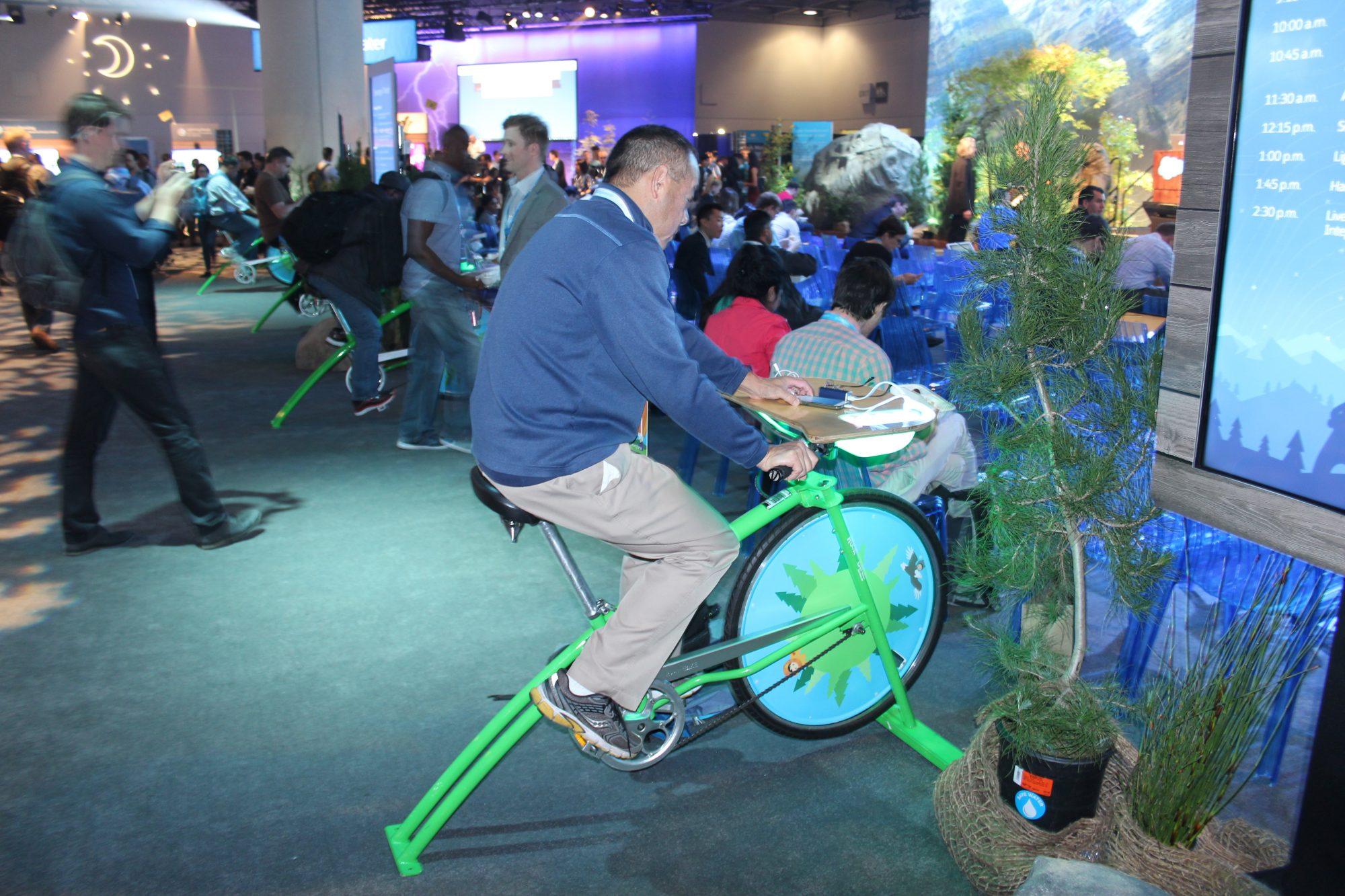 Salesforce IoT - bicycle