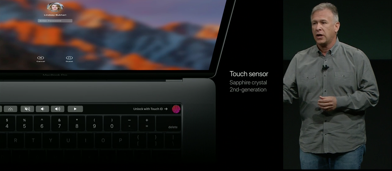 Touch ID on MacBook Pro