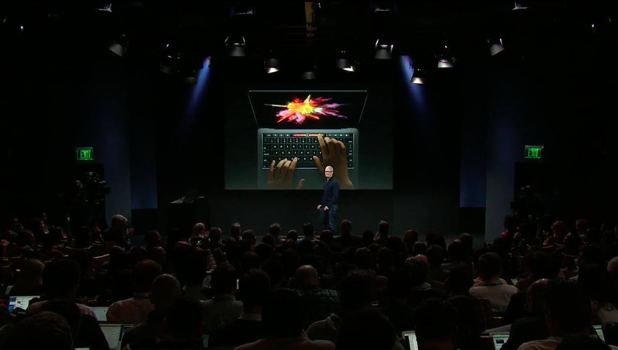 Apple MacBook event - Tim Cook