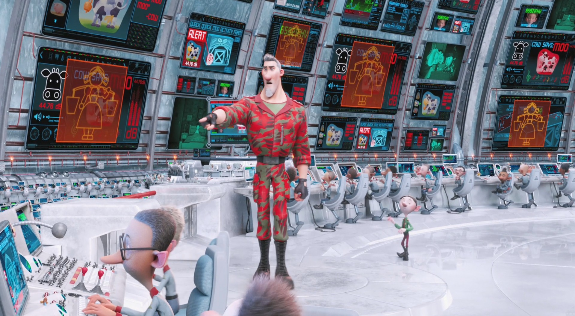 Arthur Christmas Elves.Cinematech Prep Landing And Arthur Christmas Turn The