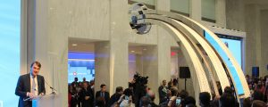 BMO's digital fountain unveiling