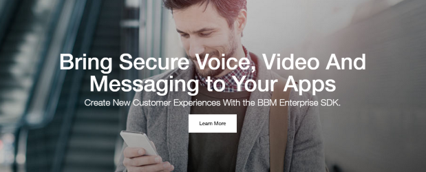 Associate BlackBerry brand with security and 'Enterprise of