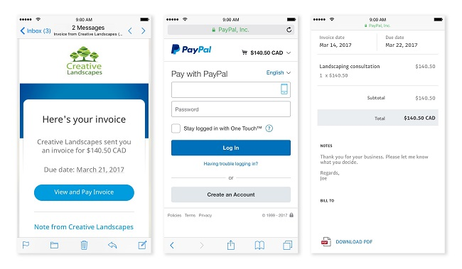 Paypal Releases Mobile App For Smbs It Business