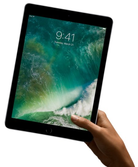 Apple iPad - in hand