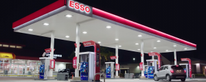 Esso gas pumps