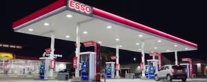 Esso gas pumps