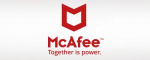 New McAfee logo - April 2017
