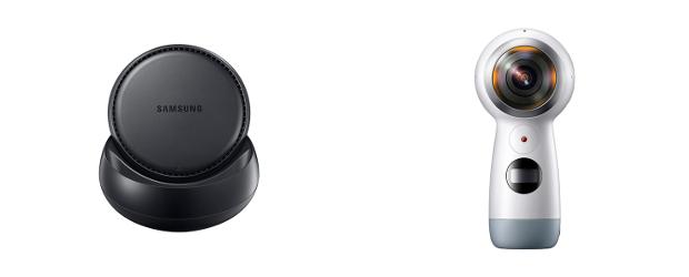 Samsung DeX and Gear 360