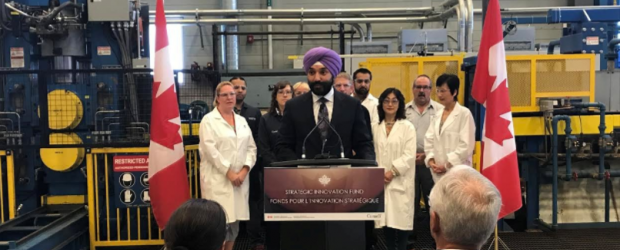 Navdeep Bains at CAN-Med