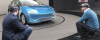 Ford designers with HoloLens