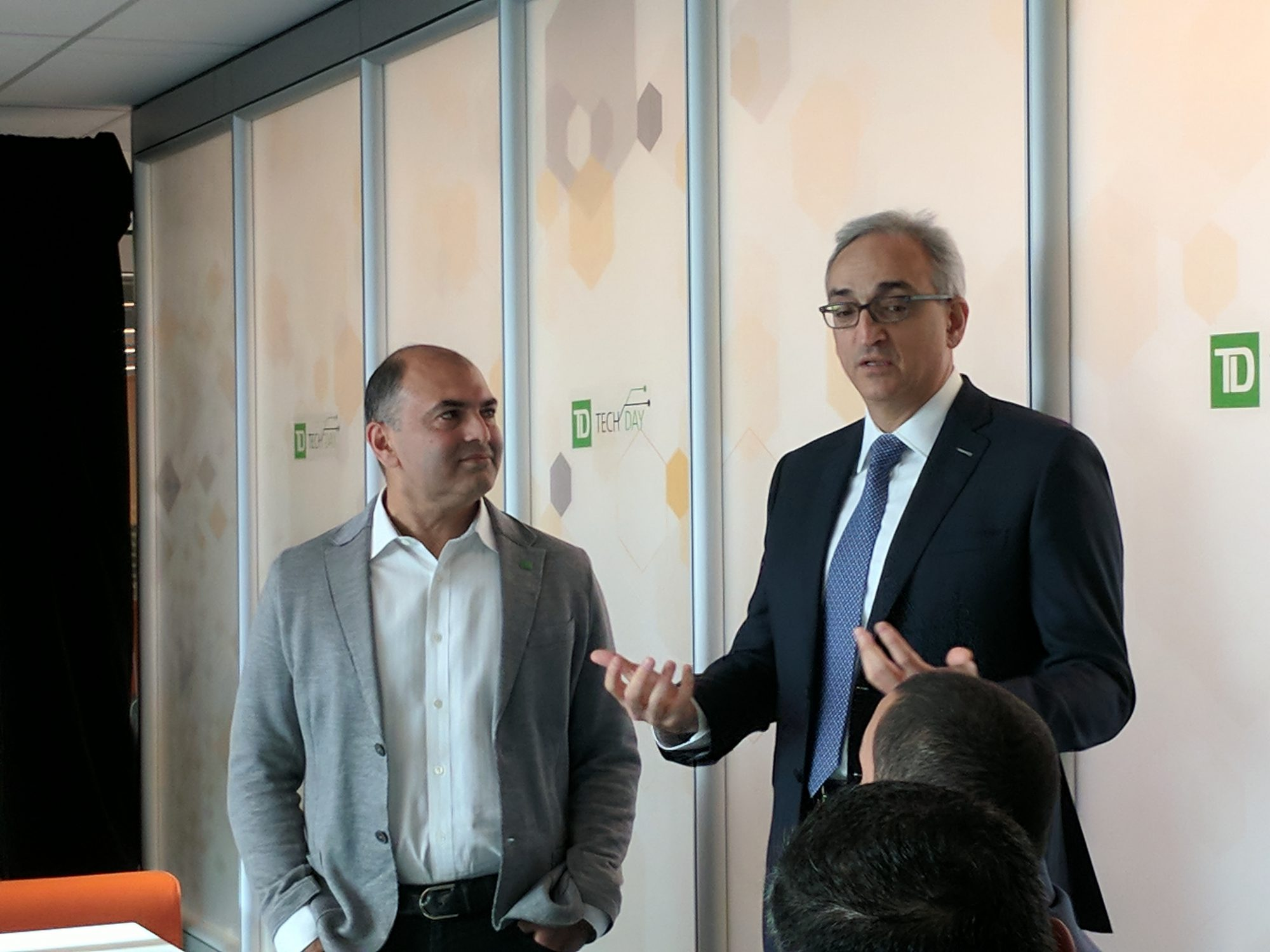 TD Tech Day - Rizwan Khalfan, Zor Gorelov