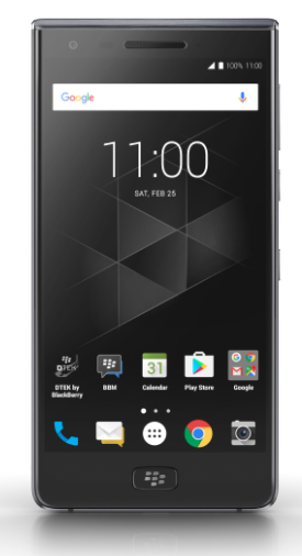 BlackBerry Motion front