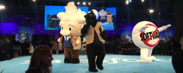 Dreamforce mascots